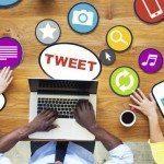 promoting on social media