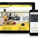 Responsive Website Redesign - All Island Yellow Cab