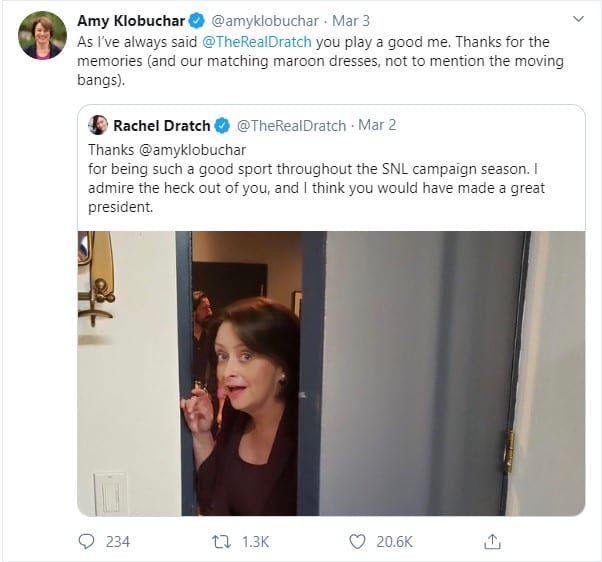 Amy Klobuchar on Twitter