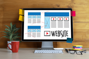 Ecommerce Website Homepage