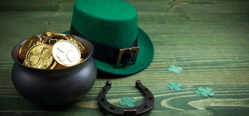 St. Patrick's Day ads