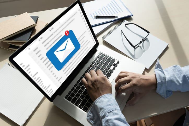 Email alerts help companies update target audiences