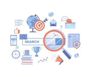 searching for content with seo and ppc